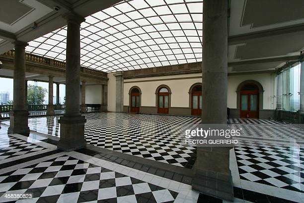 A large hall at the Castillo de Chapultepec in Mexico City on July 2 2016 Built in 1785 the Chapultepec Castle one of the most emblematic historic...