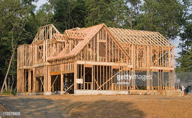 Large House Framing