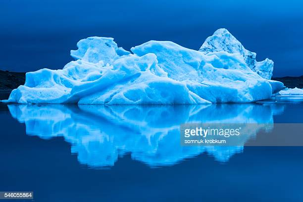 Large iceberg in Iceland.