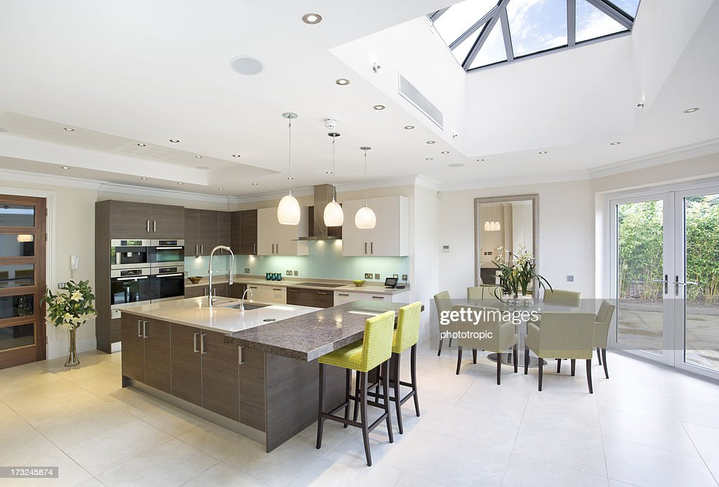 large kitchen and diner : Stock Photo