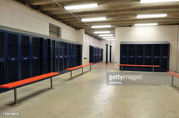 large locker room - locker room stock pictures, royalty-free photos & images