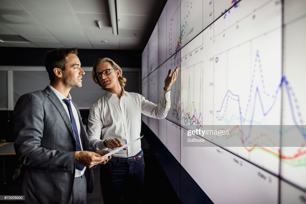 Large Modern Interactive Display Screen : Stock Photo