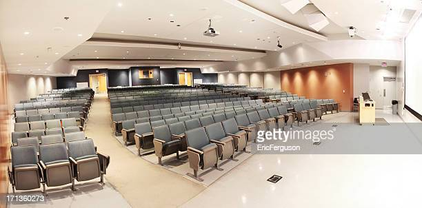 Large Modern University Lecture Hall Seats