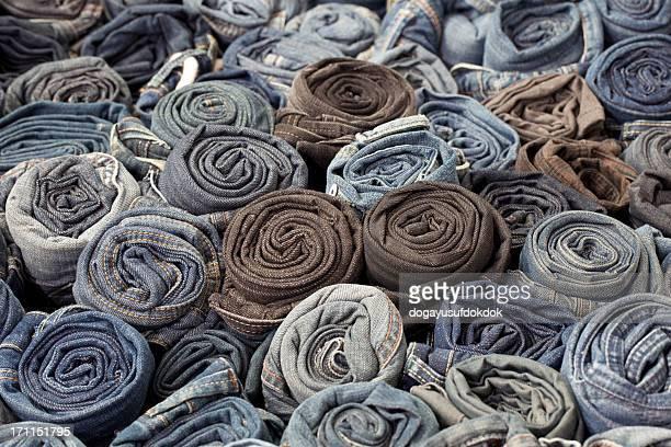 Blaue Jeans XXXL