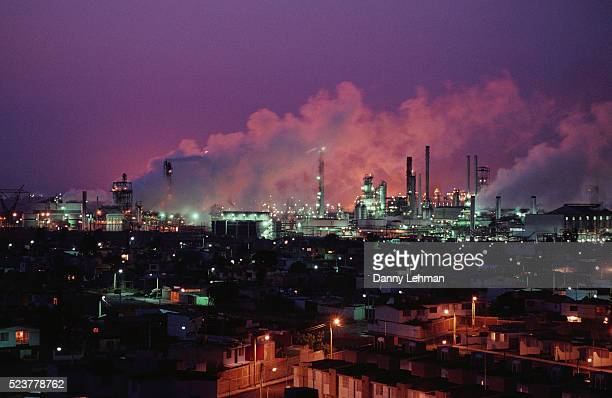 Large Oil Refinery