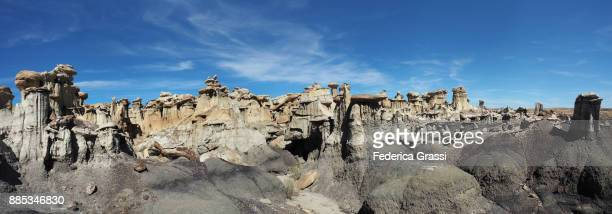 Large Panoramic of New Mexico Badlands
