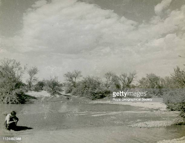 Large pools in Najd after plentiful rain Gerald de Gaury was a British military officer he was the British political agent in Kuwait during the 1930s...