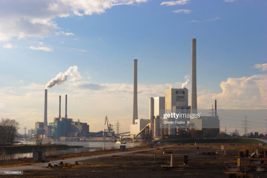 Large Power Station, Mannheim, Baden-Wuerttemberg, Germany : Stockfoto