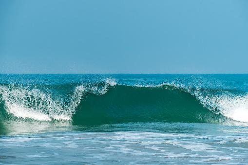 Large powerful ocean waves. 1170823924