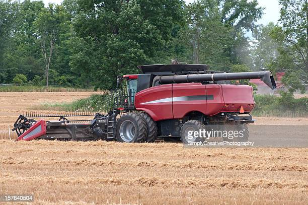 Large Red Farm Combine