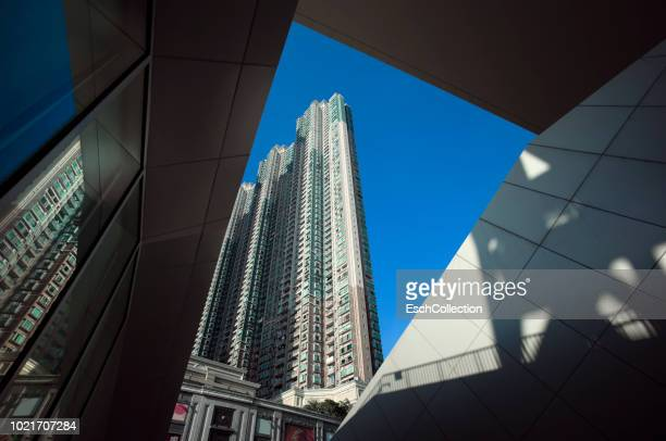 Large residential apartment building at Tiu Keng Leng in Hong Kong
