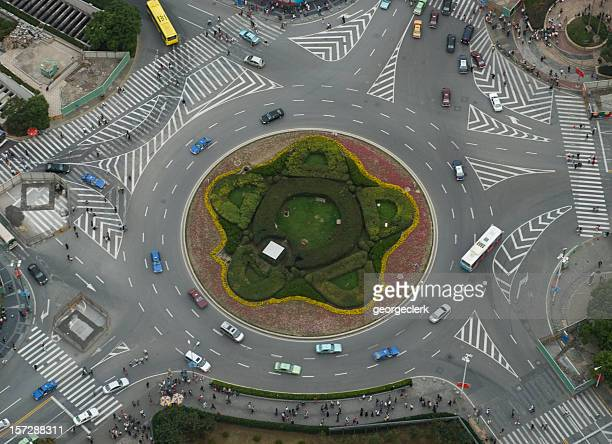 Large Roundabout From Above