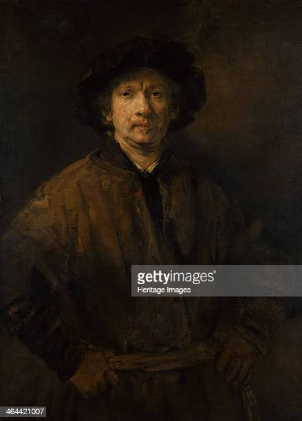 Large SelfPortrait 1652 Found in the collection of the Art History Museum Vienne