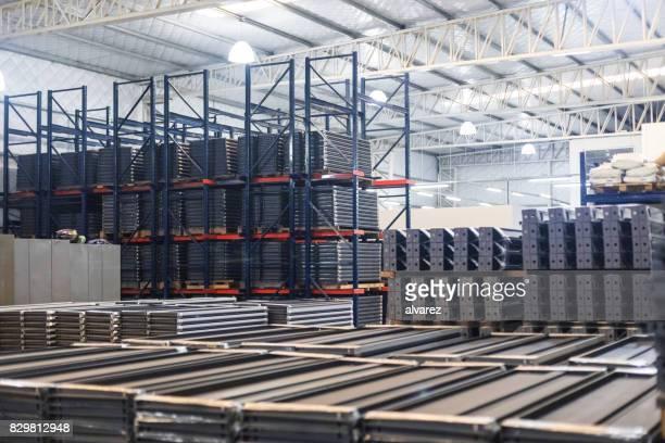 Large sheet metal manufacturing factory