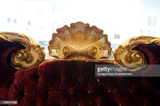 A Large Sofa Which Michael Jackson Was Going To Use On His Last Concert Tour Is
