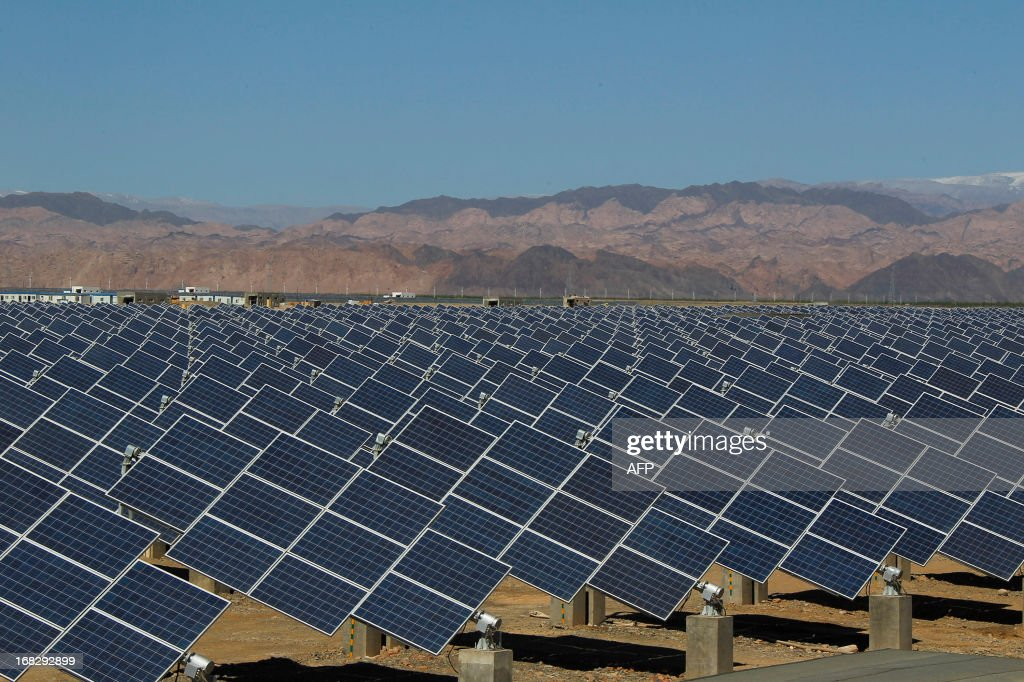 CHINA-EU-TRADE-SOLAR-ENERGY : Nyhetsfoto