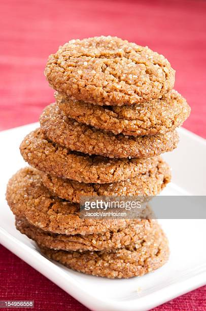 Large Stack of Gingersnaps