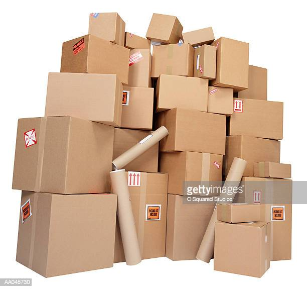 A Large Stack of Parcels