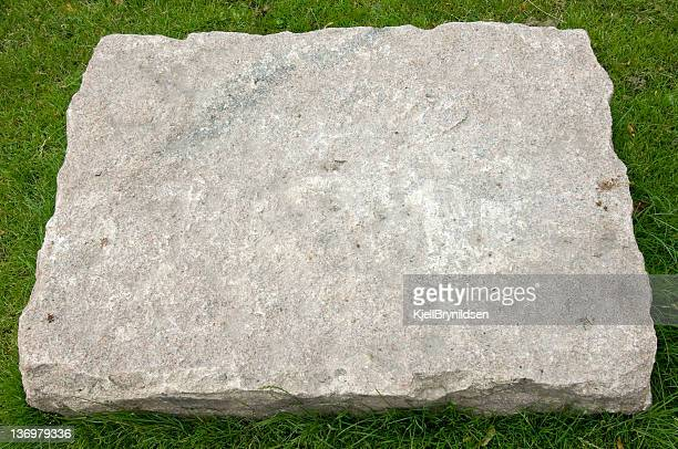 large step stone - stone material stock photos and pictures