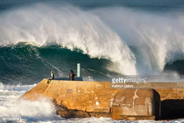 large swell and waves on east coast of australia.