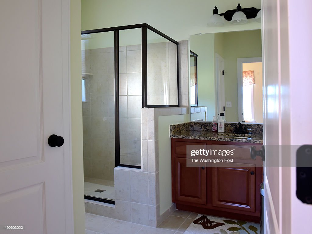 A Large Walk In Shower Is In The In Law Suite S Bathroom