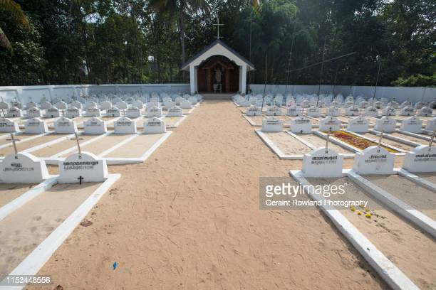 large white cemetery, kerala - religious event stock pictures, royalty-free photos & images