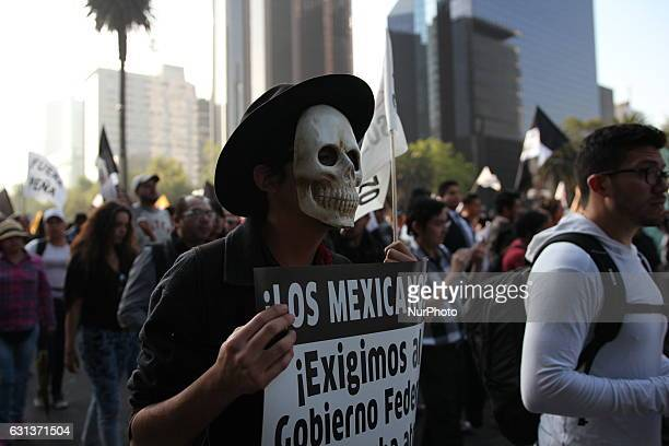 Largely peaceful protests against the fuel price increases continued nationwide in Mexico on 9 January 2017 and looting seen last week largely...