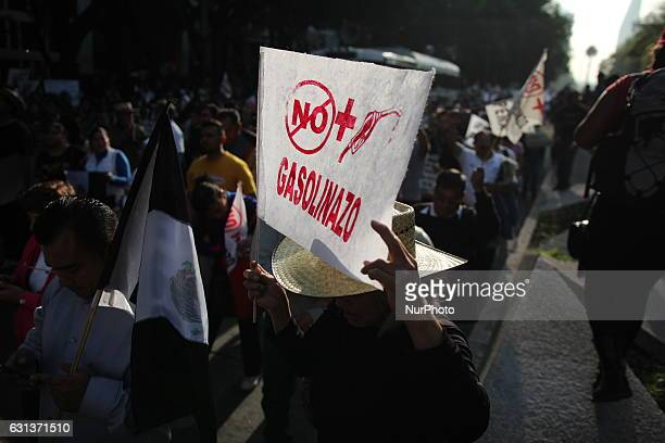 Largely peaceful protests against the fuel price increases continued nationwide in Mexico and looting seen last week largely subsided in Mexico city...