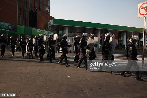 Largely peaceful protests against the fuel price increases continued nationwide in Mexico and looting seen last week largely subsided The protests...