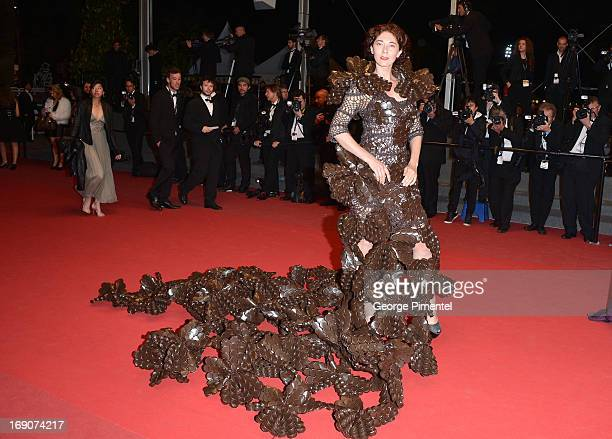 Larisa Katz attends the Premiere of 'Borgman' at The 66th Annual Cannes Film Festival on May 19 2013 in Cannes France