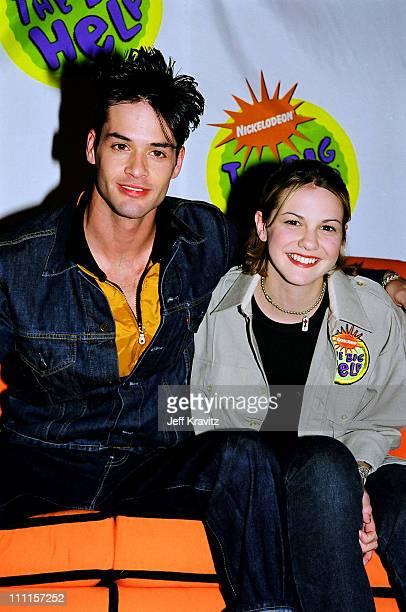 Larisa Oleynik during Nickelodeon's 1998 Big Help in Los Angeles California United States