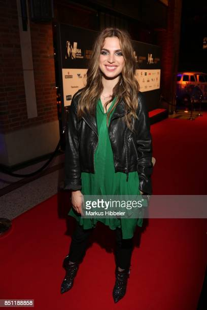 Larissa Freitag attends the 'Nena Nichts versaeumt After Show Party' on September 21 2017 in Hamburg Germany
