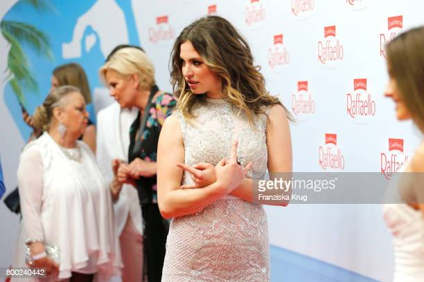 Larissa Freitag attends the Raffaello Summer Day 2017 to celebrate the 27th anniversary of Raffaello on June 23 2017 in Berlin Germany