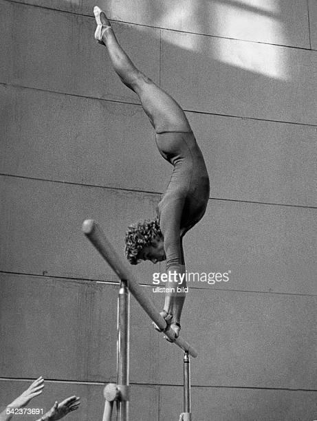 Larissa LatyninaTurnerin UdSSRam Barren Juli 1962