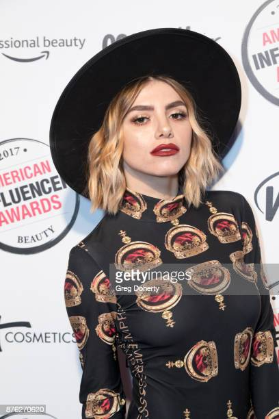 Larissa Love attends the American Influencer Award at The Novo by Microsoft on November 18 2017 in Los Angeles California