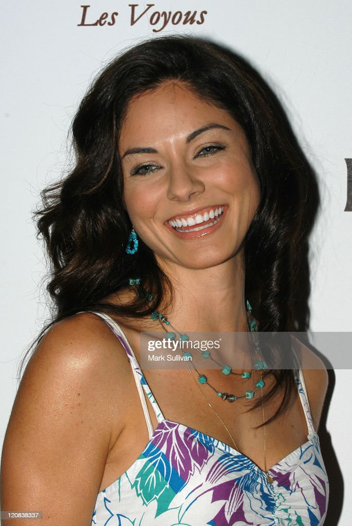 Larissa Meek during Kerri Kasem Birthday Party at Brasserie Les Voyous in Hollywood, California, United States.
