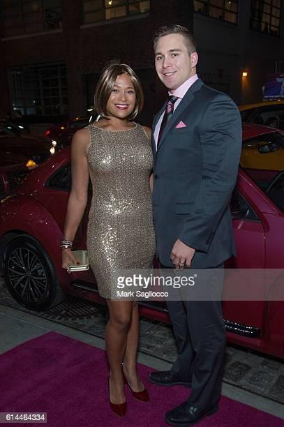 Larissa Podermanski and Martin Podermanski attend The Pink Agenda 2016 Gala at Three Sixty on October 13 2016 in New York City