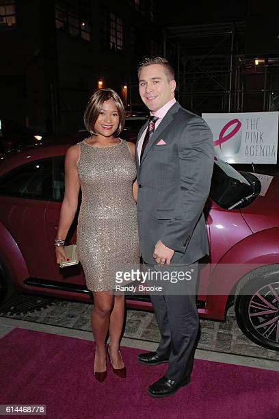 Larissa Podermanski and Martin Podermanski attend The Pink Agenda 2016 Gala arrivals at Three Sixty on October 13 2016 in New York City