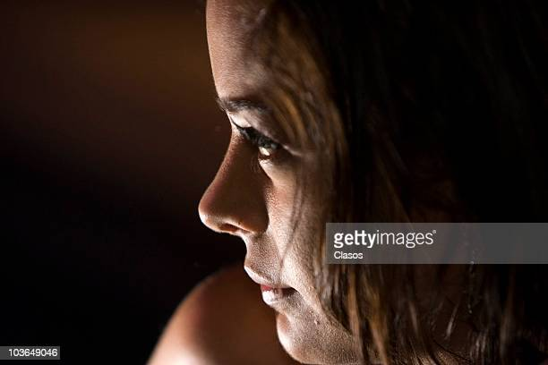 Larissa Riquelme speaks with journalists during a press conference on August 26 2010 in Mexico City