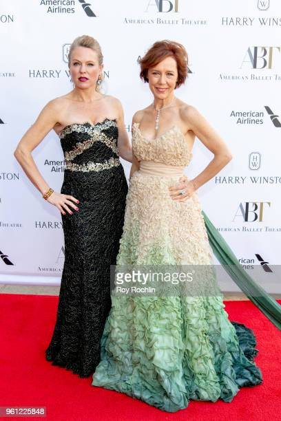 Larissa Roesch and Jill Coleman attend the 2018 American Ballet Theatre Spring Gala at The Metropolitan Opera House on May 21 2018 in New York City
