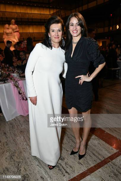Larissa Saveliev and Melanie Hamrick attend YAGP's 20th Anniversary Gala 'Stars Of Today Meets The Stars Of Tomorrow at David Koch Theatre at Lincoln...