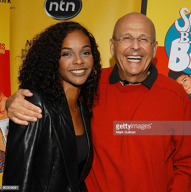 Lark Voorhies and Peter Engel executive producer