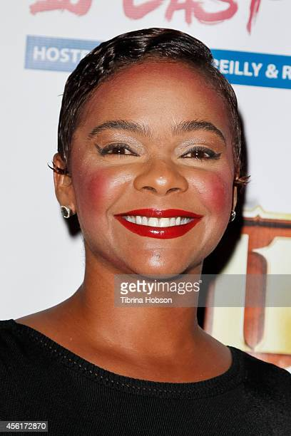 Lark Voorhies attends the 'Big Brother' season 16 finale party at Eleven NightClub on September 25 2014 in West Hollywood California