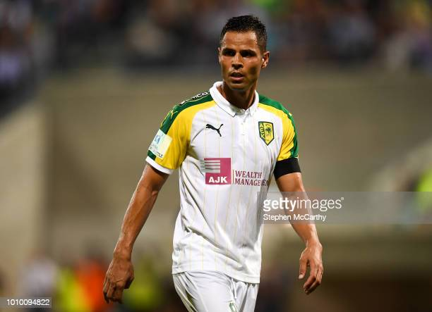 Larnaca Cyprus 2 August 2018 Acorán of AEK Larnaca during the UEFA Europa League Second Qualifying Round 2nd Leg match between AEK Larnaca and...