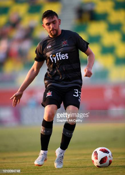 Larnaca Cyprus 2 August 2018 Dean Jarvis of Dundalk during the UEFA Europa League Second Qualifying Round 2nd Leg match between AEK Larnaca and...