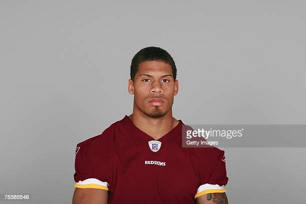 LaRon Landry of the Washington Redskins poses for his 2007 NFL headshot at photo day in Landover Maryland