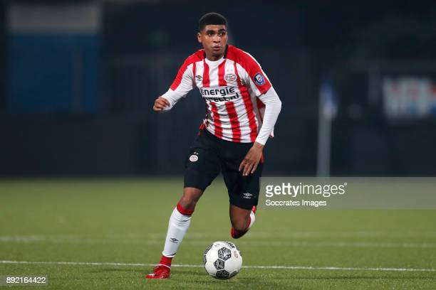 Laros Duarte of PSV U23 during the Dutch Jupiler League match between PSV U23 v Fortuna Sittard at the De Herdgang on December 4 2017 in Eindhoven...
