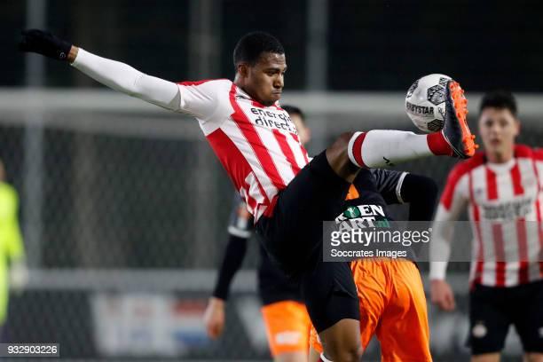 Laros Duarte of PSV U23 during the Dutch Jupiler League match between PSV U23 v FC Volendam at the De Herdgang on March 16 2018 in Eindhoven...
