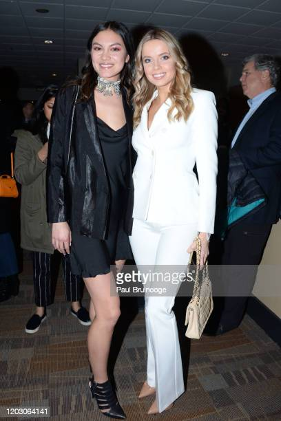 "Larosey Moore and Louisa Warwick attend The Cinema Society & Monkey 47 Host A Special Screening Of Sony Pictures Classics' ""Greed"" at Cinepolis..."