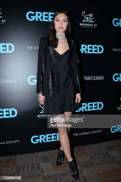 "Larosey Moore attends The Cinema Society & Monkey 47 Host A Special Screening Of Sony Pictures Classics' ""Greed"" at Cinepolis Chelsea on February 24,..."